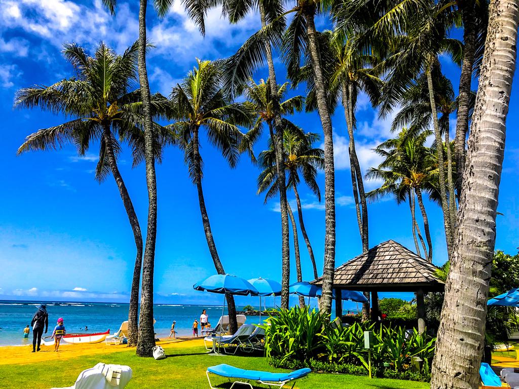 ハワイ カハラビーチ