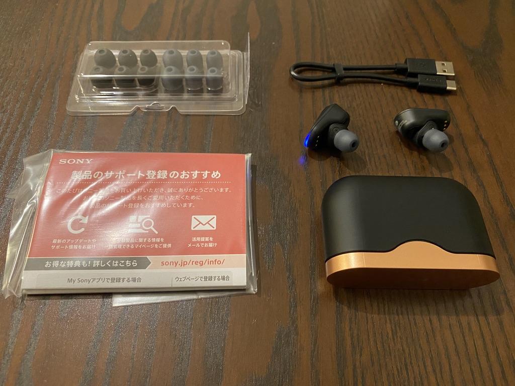 WF-1000XM3の付属品